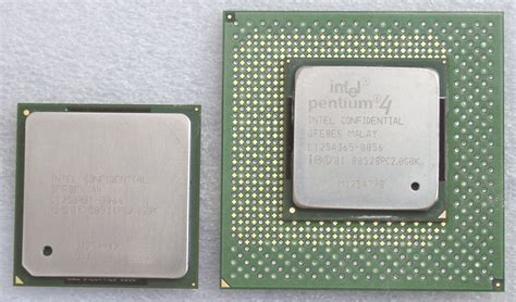 Pentium 4 Sockel by Intel Pentium 4 2 0 Ghz On Socket 423 And Socket 478