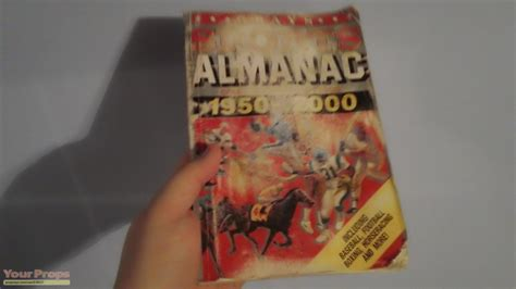 grays sports almanac back to the future 2 books back to the future 2 1985a grays sports almanac replica