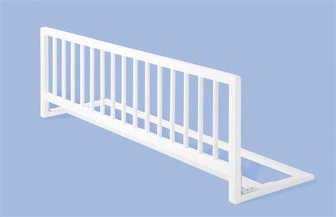 barrera de cama larga madera blanca segurbaby