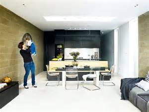 Living Room Extension Cost Modern Extension To A Terraced Home Real Homes