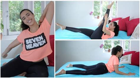 exercises to do in bed an easy workout you can do in bed youtube