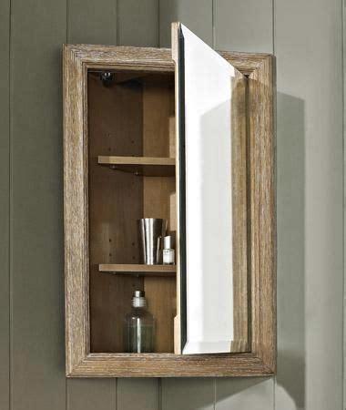"""Rustic Chic 18"""" Corner Medicine Cabinet 142 CMC18 from"""