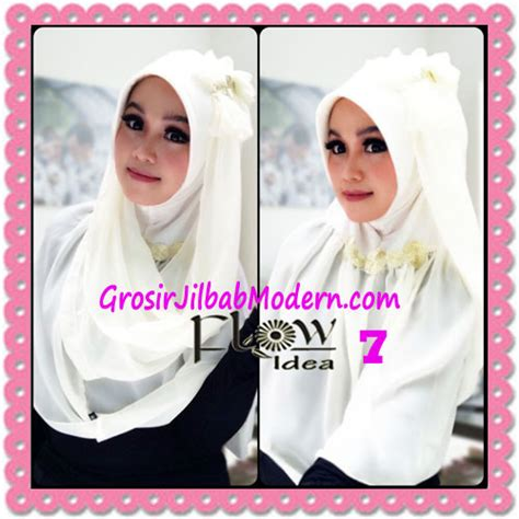 Jilbab Instant Cleopatra 2 In 1 jilbab instant cantik terbaru syria pet laiqa 2 in 1 original by flow idea no 7 broken white