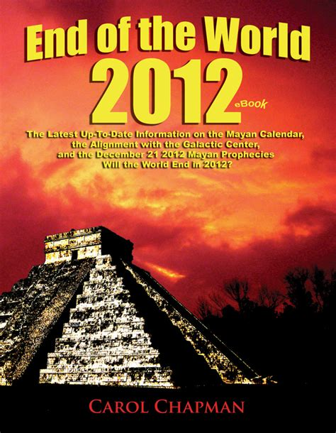 michael and the end of the world books carol chapman end of the world 2012 book and ebook