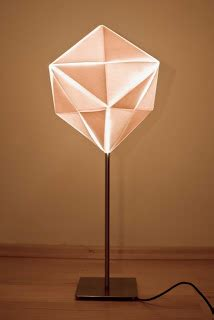 Origami Light Fixture Peacefully Folding Origami Lighting Fixtures