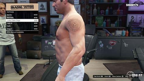 tattoo unlocks gta v online tattoo michael gta v grand theft auto 5 on gta cz