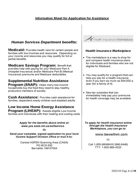 o w supplemental application information sheet for application for assistance free