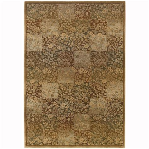 Area Rugs 6 X 9 Shop Archer Macarro Green Rectangular Indoor Machine Made Area Rug Common 6 X 9 Actual