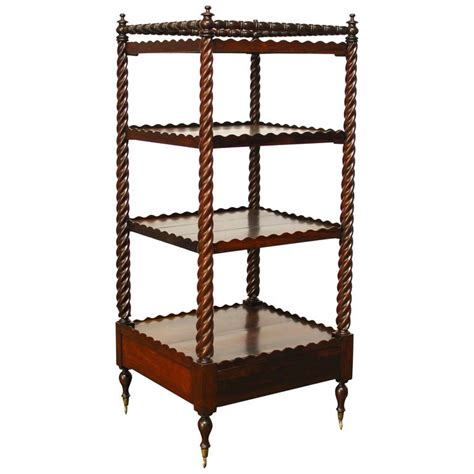 etagere 6 cases 19th century regency mahogany 201 tag 232 re for sale at