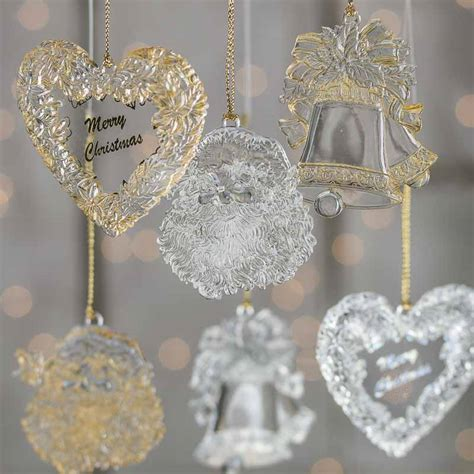 clear ornament crafts clear acrylic ornament ornaments