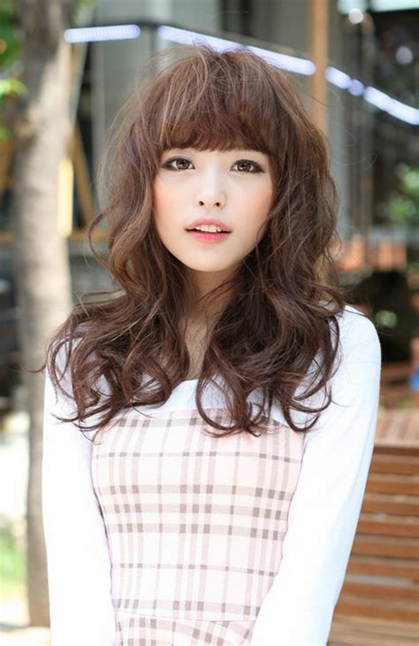 cute japanese hairstyle with bangs hairstyles weekly