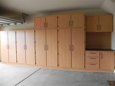 wood cabinet building how to build wood garage storage cabinets quick