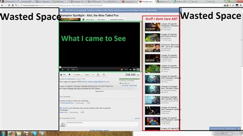 old youtube layout vs new quot new quot youtube layout