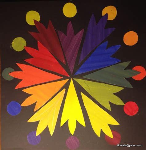 tempera color wheel and color scheme painting floridacreate