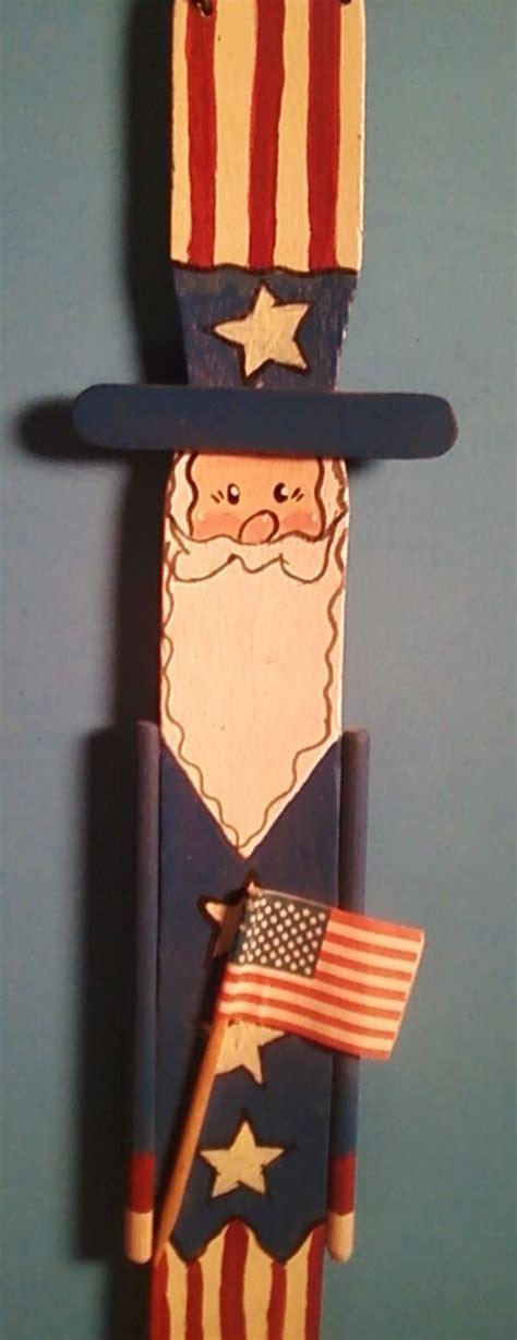 uncle sam    wooden paint stick stirrer