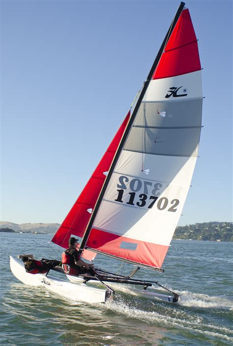 Hibie Q hobie 16 sailboat images