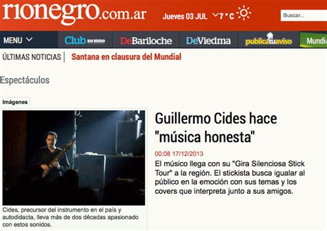 diario rio negro interview rio negro newspaper argentina guillermo
