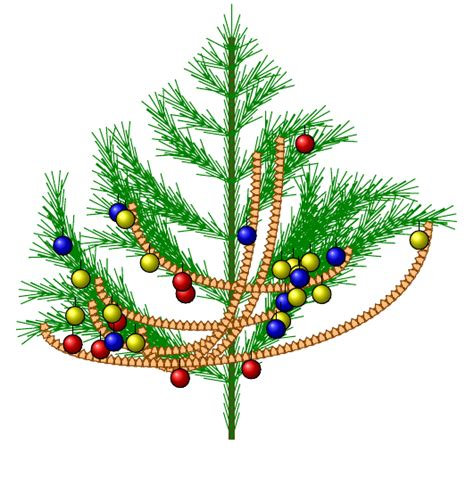 draw  christmas tree  decorations  tikz tex latex stack exchange