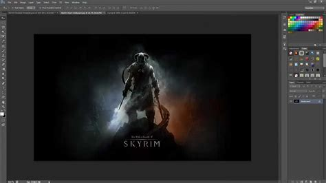 learn to create a gaming layout in photoshop speed art making the best gaming themed youtube background