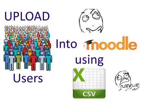 how to use m doodle codingtrabla moodle 3 1 1 upload users from csv file