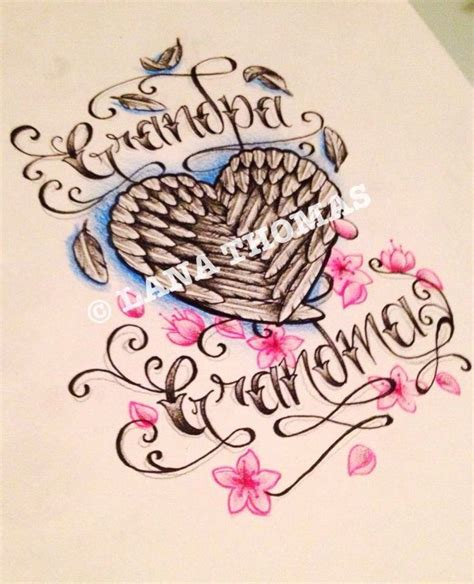 grandma tattoo designs grandparent memorial tattoos