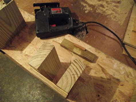 woodworking jigsaw turn a jig saw into a scroll saw jig by ted