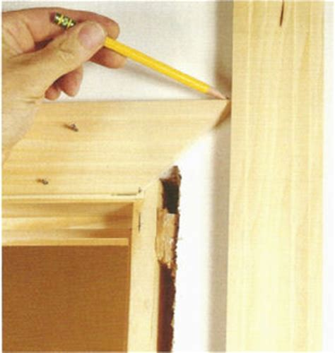 Installing Door Casing by 7 Steps Installing A Colonial Door Casing Ehowdiy