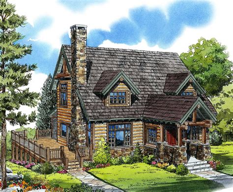 mountain cabin 11545kn architectural designs house plans
