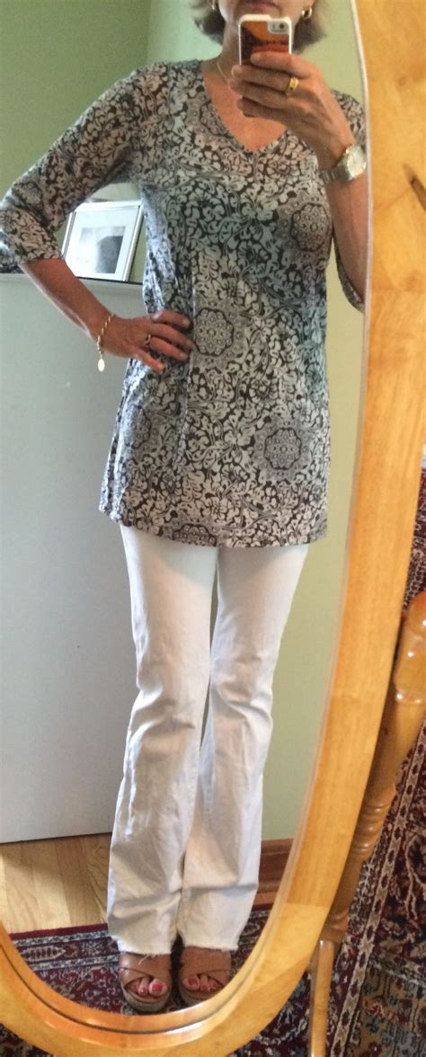fashion over 50 sweaters tunics 50th and clothes white jeans under a tunic dressing for women over 50