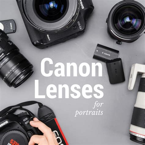 best lens for the 10 best canon and nikon lenses for portrait
