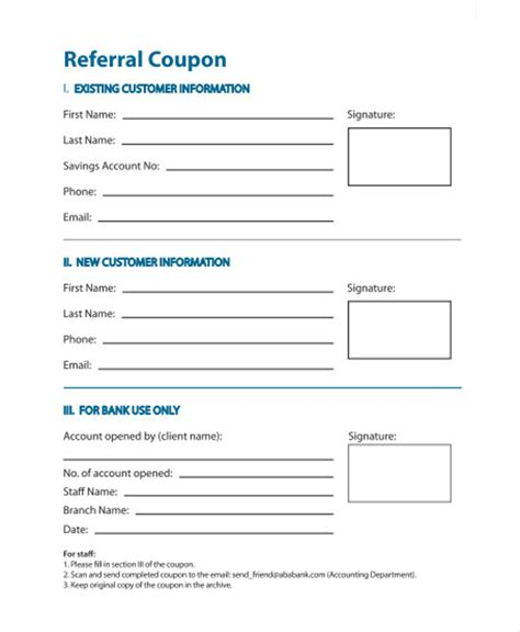 sle referral coupon template 10 download in pdf psd