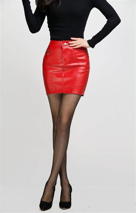 Pencil Mini Skirt leather pencil mini skirt trailer