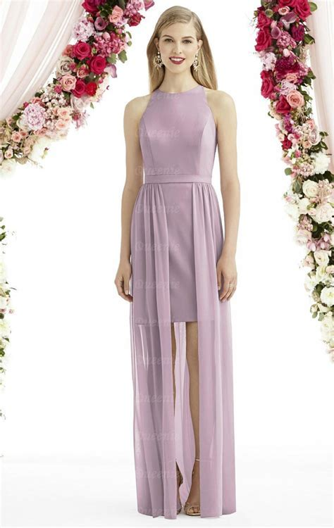 Online Lilac Long Bridesmaid Dress BNNDE0018 Bridesmaid UK