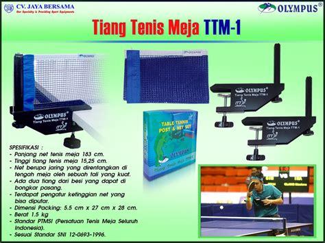 Tenis Meja Merk Olympus tiang net tenis meja olympus ttm 1 distributor olahraga