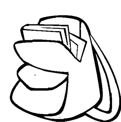 coloring page school bag backpack coloring page clipart panda free clipart images