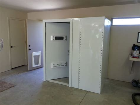 Bullet Proof Safe Room by Shown Here Is An F5 Shelters Above Ground Safe Room