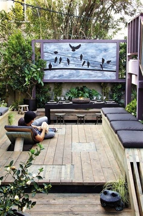 backyard theater 20 most beautiful outdoor home theater ideas house