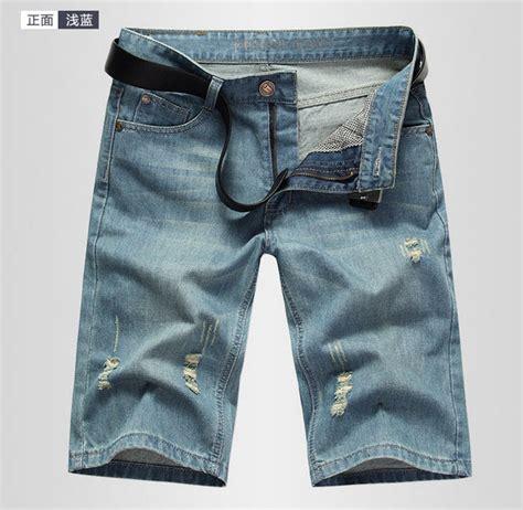 Harga Celana Merek Denim 2015 merek desainer busana pria jins celana pendek denim