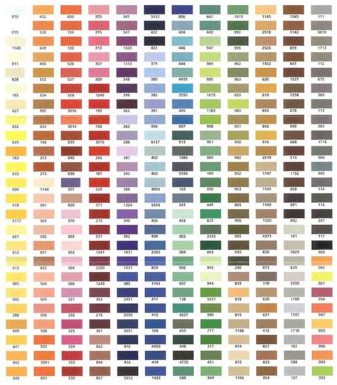 embroidex color chart welcome to panrita