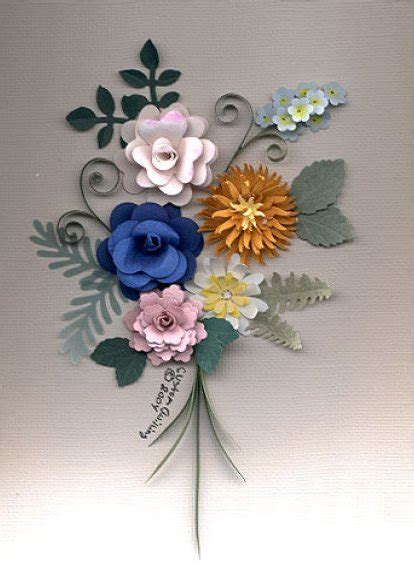 free quilling resources north american quilling guild punched flower pattern by denise cameron