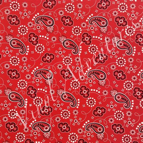 paisley pattern vinyl wrap bandana pattern vinyl red bandana patterned vinyl