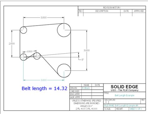 pattern sketch solid edge solid edge s goal seek the next best thing to hindsight