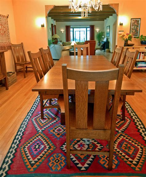 country shaker table  chairs craftsman dining room