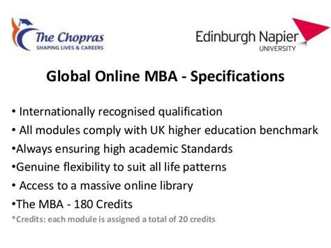Edinburgh Business School Mba Fees by Edinburgh Presentation For Applicant