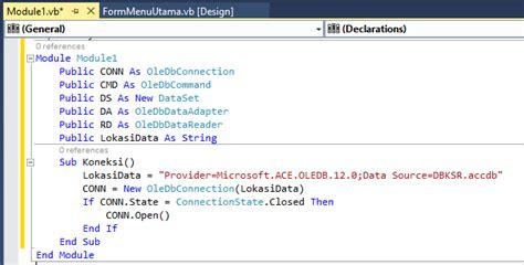membuat koneksi html cara membuat koneksi database dengan module aplikasi kasir