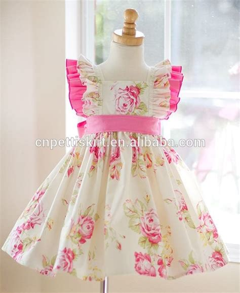 design dress for baby girl new design baby cotton frocks skirt100 cotton dresses