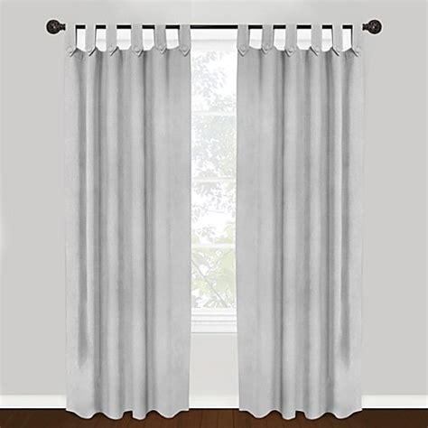 Tab Top Button Curtains Park B Smith Vintage House 100 Cotton Brighton Tab Top Window Curtain Panels Bed Bath Beyond