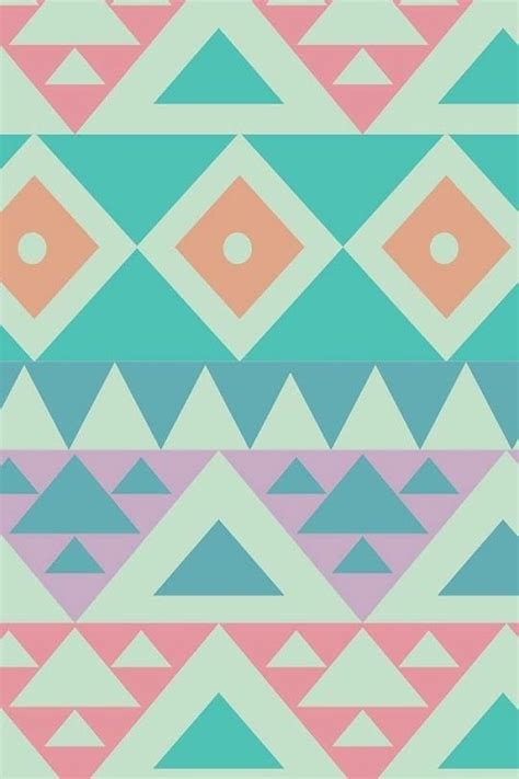 pastel pattern wallpaper pastel aztec pattern design print making pinterest