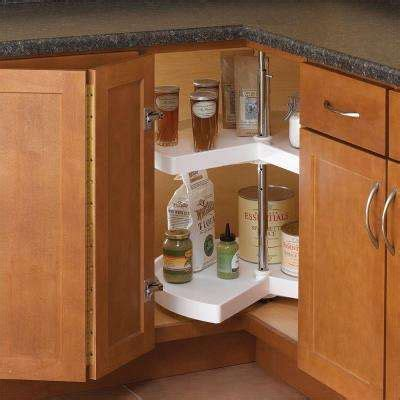 lazy susan organizer for kitchen cabinets lazy susans kitchen storage organization the home depot