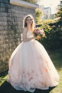 wedding dresses for flower 7 most beautiful floral wedding dresses vowslove